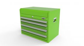 """Viper Storage Viper Tool Storage 26"""" 4-Drawer Top Chest, Lime Green LB2604C"""