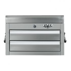 Viper Storage Viper Tool Storage 18-Inch 2-Drawer Stainless Steel Mini Chest V218MCSS