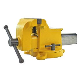 Yost Model  906-HV High Visibility All Steel Utility Combination Pipe and Bench Vise