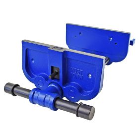 Yost 10 Inch Heavy Duty Ductile Iron Woodworker's Vise - Continuous Action - Model 10WW-CA