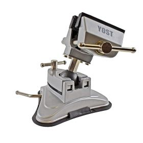 Yost 2.75 Inch  Portable Multi-Angle Pivoting Vise with Vacuum Base Model V-275