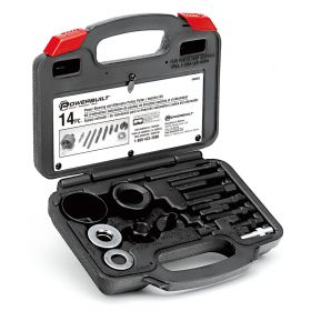 Powerbuilt 14PC PULLEY REMOVE & INSTALL KIT20 648605