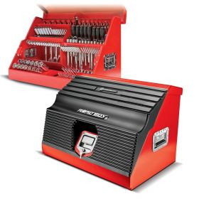Powerbuilt 26 Inch RAPID BOX W/FRONT COVER (Red) 240311