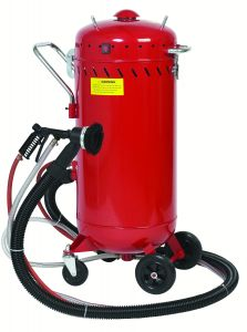 Allsource 28 GAL ABRASIVE BLASTER WITH VACUUM 41700