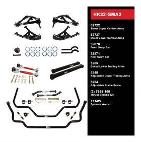QA1 HANDLING KIT 2.0 - LEVEL 2 - GM A-BODY; 68-72 GM A-BODY - W/0  SHOCKS HK32-GMA2