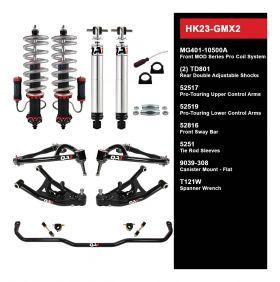 QA1 HANDLING KIT 2.0 - LEVEL 3 - GM X-BODY; 68-74 GM X-BODY - W/ SHOCKS HK23-GMX2
