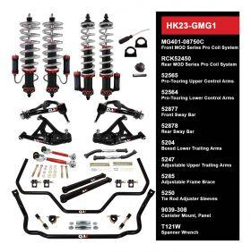 QA1 HANDLING KIT 2.0 - LEVEL 3 - GM G-BODY; 78-88 GM G-BODY - W/ SHOCKS HK23-GMG1