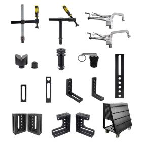 BuildPRO Welding Tables Fixturing Kit 400; 113 pc. T28-90401