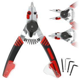 Powerbuilt COMBO SWITCH INT/EXT SNAP RING PLIERS(D) 941336