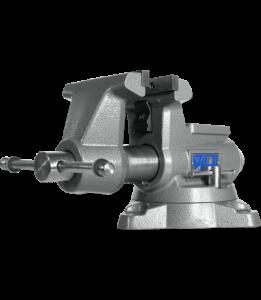Wilton 855M - Mechanics Pro 5-1/2 Inch Jaw Width - Round Channel Vise with Swivel Base 28811