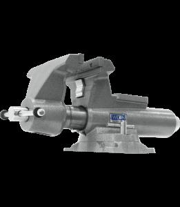 Wilton 8100M - Mechanics Pro 10 Inch Jaw Width - Round Channel Vise with Swivel Base 28814
