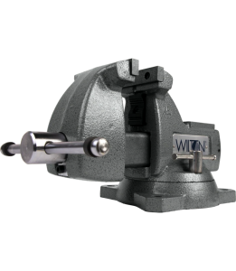 Wilton 744 - Mechanics Vise 4 Inch Jaw with Swivel Base 21300