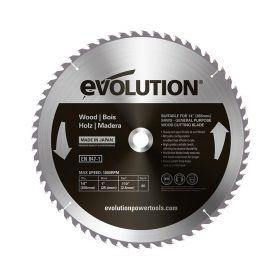 Evolution Power Tools 14 In. Wood x 60T x 1 In. Arbor 14BLADEWD