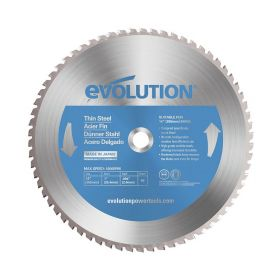 Evolution Power Tools 14 In. Thin Steel x 90T x 1 In. Arbor 14BLADETS