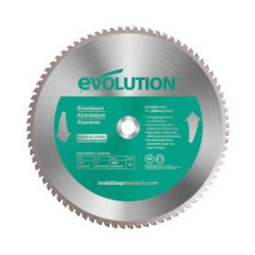 Evolution Power Tools 14 In. Aluminum x 80T x 1 In. Arbor 14BLADEAL