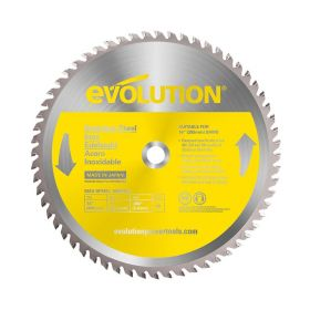 Evolution Power Tools 14 In. Stainless x 90T x 1 In. Arbor 14BLADESSN