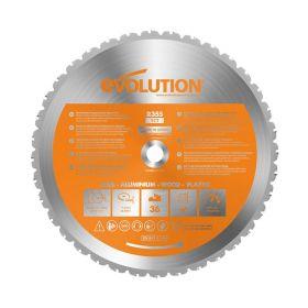 Evolution Power Tools 14 In. Multipurpose x 36T x 1 In. Arbor RAGE355BLADE