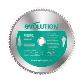 Evolution Power Tools 12 In. Aluminum x 80T x 1 In. Arbor 12BLADEAL