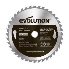 Evolution Power Tools 10 In. Wood x 40T x 1 In. Arbor 10BLADEWD