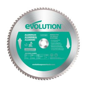 Evolution Power Tools 10 In. Aluminum x 80T x 1 In. Arbor 10BLADEAL