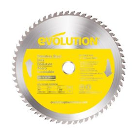 Evolution Power Tools 10 In. Stainless x 66T x 1 In. Arbor 10BLADESSN