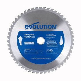 Evolution Power Tools 10 In. Steel x 52T x 1 In. Arbor w/5/8 In. Arbor Reducer 10BLADEST