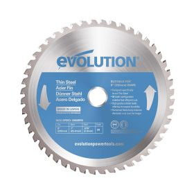Evolution Power Tools 9 In. Thin Steel x 68T x 1 In. Arbor 230BLADETS