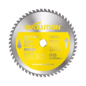 Evolution Power Tools 8 In. Stainless x 54T x 5/8 In. Arbor 8BLADESSN
