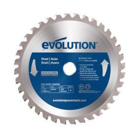 Evolution Power Tools 7 1/2 In. Steel x 40T x 20mm Arbor 7 1/2BLADEST