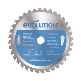 Evolution Power Tools 7 1/4 In. Thin Steel x 40T x 5/8 In. Arbor 7 1/4BLADETS