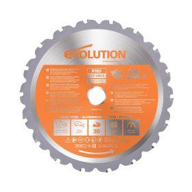 Evolution Power Tools 7 1/4 In. Multipurpose x 20T x 20mm Arbor RAGEBLADE