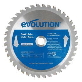 Evolution Power Tools 6 1/2 In. Steel x 40T x 5/8 In. Arbor 6 1/2BLADEST