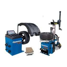 Dannmar Tire Changer & Wheel Balancer Combo DT 50 & DB 70 5140163