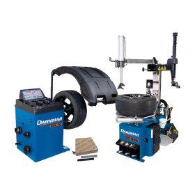 Dannmar Tire Changer & Wheel Balancer Combo DT 50A & DB 70 5140162