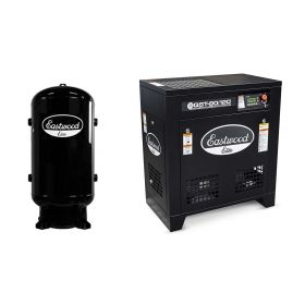 Eastwood Elite QST® 80/120 Scroll Air Compressor with 80 Gallon Air Tank