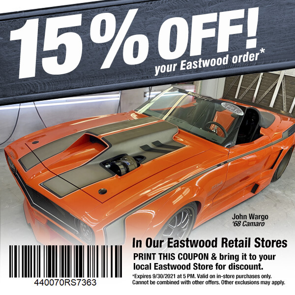 Eastwood In Store Coupon